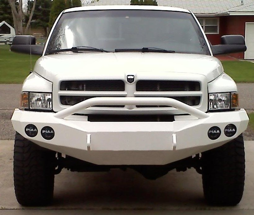 Power Wagon Registry • View topic - Road Rhino bumpers